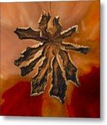 Dry Leaf Collection Digital 1 Metal Print