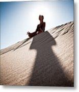 Dry Meditation Metal Print