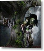 Dryad's Dance Metal Print by Mary Hood