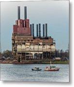 Dte Power Plant  Metal Print