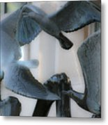 Du Pen Fountain Metal Print