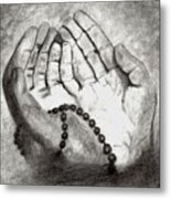 Dua -hands Of Faith No. Six Metal Print