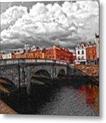 Dublin's Fairytales Around Grattan Bridge 2 V3 Metal Print