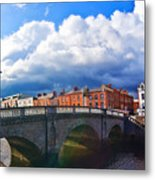 Dublin's Fairytales Around Grattan Bridge V2 Metal Print