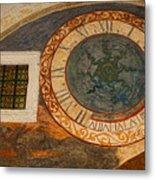 Dubrovnik Fresco Metal Print
