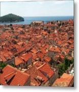 Dubrovnik Old Town Metal Print