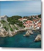 Dubrovnik Panorama Metal Print