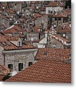 Dubrovnik Rooftops #3 Metal Print