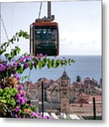 Dubrovniks Cable Car Metal Print