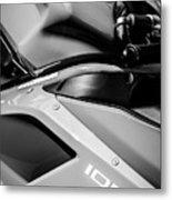 Ducati 1098 Motorcycle -0893bw Metal Print