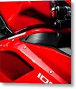 Ducati 1098 Motorcycle -0893c Metal Print