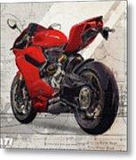 Ducati 1199 Panigale Metal Print