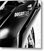 Ducati 749 Metal Print