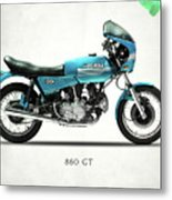 Ducati 860 Gt 1975 Metal Print