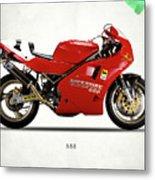 Ducati 888 Metal Print