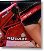 Ducati Model Metal Print