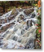 Duchesnay Falls Metal Print