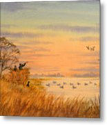 Duck Hunting Calls Metal Print