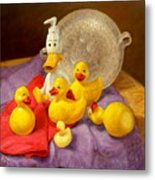 Duck Soap Metal Print