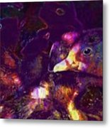 Ducklings Young Cute Animals Duck  Metal Print