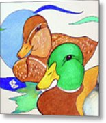 Ducks2017 Metal Print