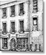 Duffys Antique Shop Parnell Street Dublin  Metal Print
