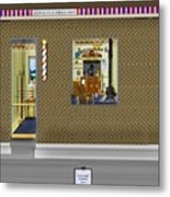 Dugger's Barber Shop Metal Print