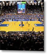 Duke Blue Devils Cameron Indoor Stadium Metal Print by Replay Photos