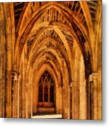 Duke Chapel Metal Print