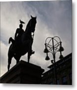 Duke Of Wellington Statue  Metal Print
