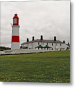 Dull Day At The Seaside. Metal Print