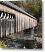 Dummerston Covered Bridge Metal Print