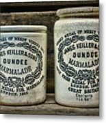 Dundee Marmalade Country Kitchen  Metal Print