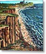 Dunes at Montauk Metal Print