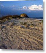 Dunes At St. Simons Island Metal Print