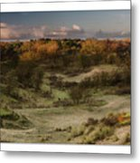 Dunes At Sunrise Metal Print