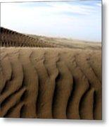 Dunes Of Alaska Metal Print