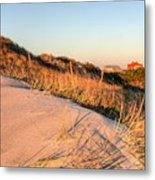 Dunes Of Fire Island Metal Print