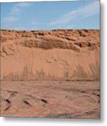 Dunes Of Sand Metal Print
