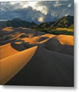 Dunescape Monsoon Metal Print by Joseph Rossbach
