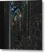 Dungeon Passage Metal Print