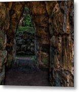 Dungeon Walls Metal Print