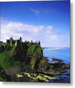 Dunluce Castle, Co Antrim, Irish, 13th Metal Print