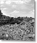 Dunn Street Demolition 2 Metal Print