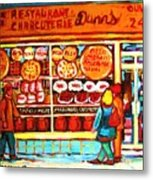Dunn's Treats And Sweets Metal Print