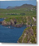 Dunquin Bay And Coast Metal Print