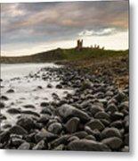 Dunstanburgh Castle Uk Metal Print