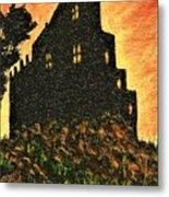 Duntrune Castle Argyll Scotland Metal Print