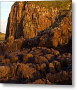 Duntulm Castle Isle Of Skye Metal Print