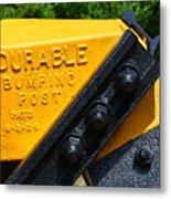 Durable Bumping Post Metal Print